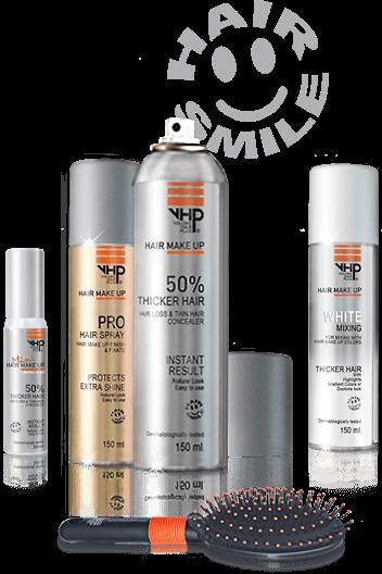 Haarverzorging van Dun Haar met VHP Fiber spray
