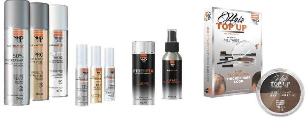 Categorie Haarstyling dikker haarproduct van VHP haarverdikkende producten